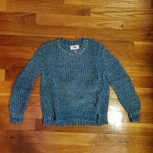 Girls blue small 6/7 old navy sweater